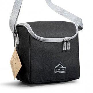 Lunch bag isotherme personnalisée avec couverts en bouteilles plastiques recyclées - Avec logo - GAMELBAG
