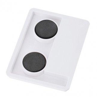 Magnet thermomètre publicitaire avec aimant - Dos