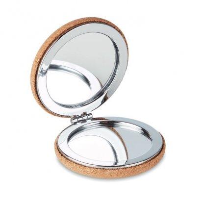 Miroir Compact Promotionnel Double Face En Liège GUAPA CORK
