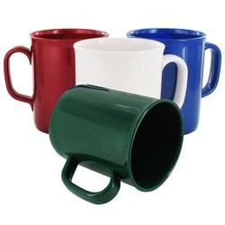 Mug 275ml publicitaire en plastique recyclé - couleurs - THEO
