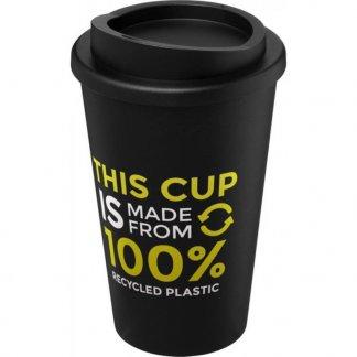 Mug double paroi personnalisable - en polypropylène - 350ml - logo - RECYCLE