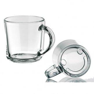 Mug en verre personnalisable avec smiley - SOFFY