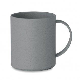 Mug personnalisable en fibre de bambou et polypropylène - 300ml - Vert anis - ASTORIAMUG
