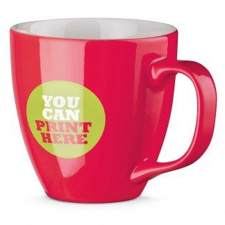 Mug personnalisé en porcelaine - 450ml - Brillant avec logo - PANTHONY