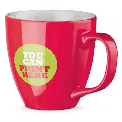 Mug Personnalisé En Porcelaine 450ml Brillant Avec Logo PANTHONY