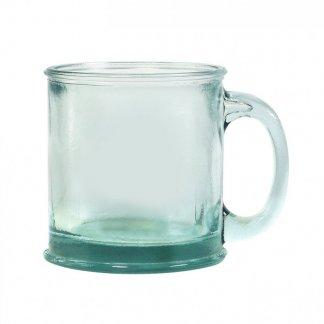 Mug promotionnel en verre recyclé - 350ml - GLOSSY
