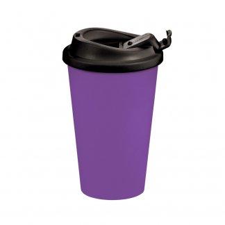 Mug thermos promotionnel 350ml éco-conçu - avec couvercle anti-fuite - AMERICANO