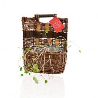 Panier en osier promotionnel pour le jardin - PANIER OSIER