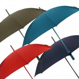 Parapluie Golf promotionnel en bouteilles plastiques recyclées - 4 couleurs - ALUCOLOR
