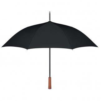 Parapluie personnalisable en bouteilles plastiques recyclées - noir - GALWAY
