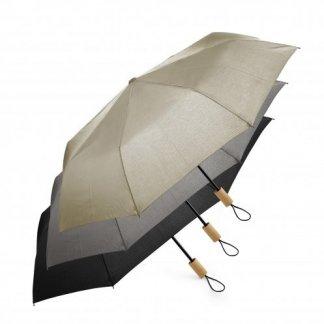 Parapluie pliable personnalisé en bouteilles plastiques recyclées - couleurs - ECORAIN