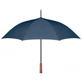 Parapluie promotionnel en bouteilles plastiques recyclées - bleu marine - GALWAY