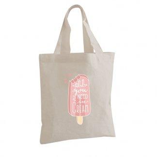 Petit sac personnalisable en coton naturel - 160g - 22x26cm - BELLARY