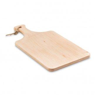 Planche publicitaire à découper avec poignée en bois - cordelette - ELLWOOD LUX