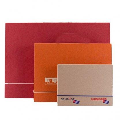 Pochette A4, A5, A3 En Carton Recyclé Fermeture élastique CHARLINE
