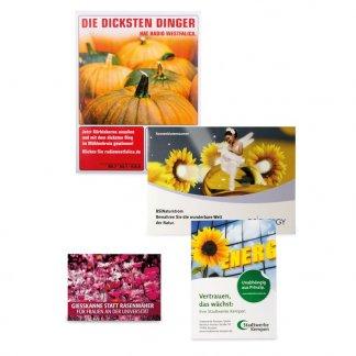 Pochette de graines publicitaire en carton - 2 formats - POCHAGRAINES