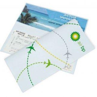 Pochette de voyage 2 poches publicitaire en PVC