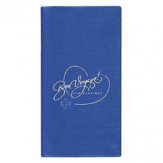 Pochette de voyage 4 poches publicitaire en PVC - Marquage 1 couleur