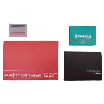 Pochette Personnalisable A4, A5, A3 En Carton Recyclé Fermeture élastique 3 Formats CHARLINE