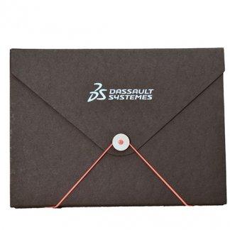 Pochette publicitaire A4 ou A5 en carton recyclé - forme enveloppe - ENPOCH