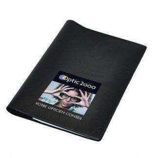 Pochette santé 5 poches publicitaire en PVC - Noir