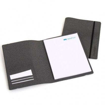 Porte Bloc Notes A5 Publicitaire En Cuir Recyclé JULIO
