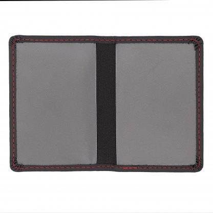 Porte Carte Personnalisable En Cuir Recyclé Avec Protection RFID Ouvert EXECUTIVE