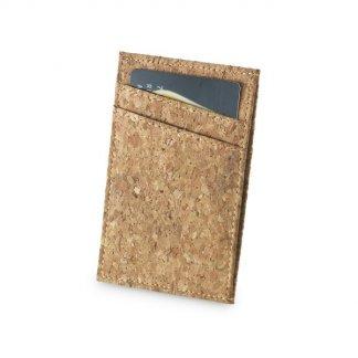 Porte-cartes promotionnel en liège - Avec carte - CORK