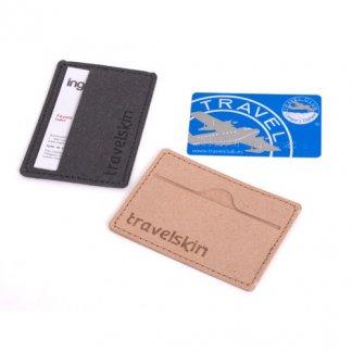 Porte cartes publicitaire en cuir recyclé - NEREO