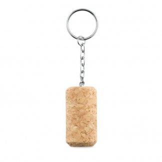 Porte-clés personnalisable en bouchon de liège - anneaux - TAPON