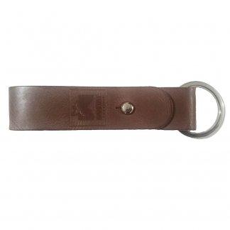 Porte-clés promotionnel en cuir recyclé - KEYS