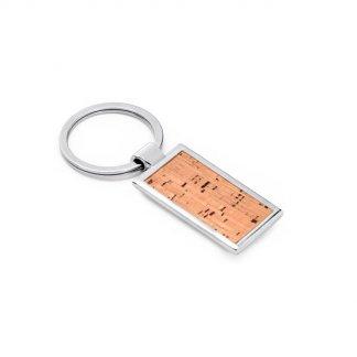 Porte-clés promotionnel en liège et métal - KOKO