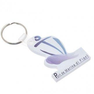 Porte-clés publicitaire à votre forme en mousse EVA - forme ancre
