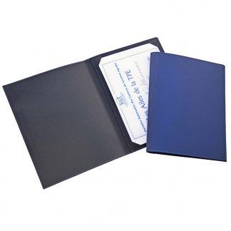 Porte diplôme A4 personnalisé en cuir recyclé