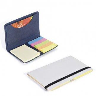 Porte notes repositionnables et porte-cartes publicitaire en papier recyclé