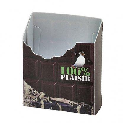 Protège Paquet De 20 Cigarettes à Votre Forme Publicitaire En Polypropylène Chocolat