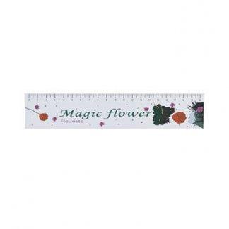 Règle 20 cm publicitaire en papier polyéthylène indéchirable - MAGIC