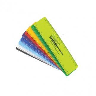 Règle flexible 15cm publicitaire en polypropylène recyclé - couleurs - RULER15