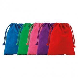 Sac à cordon publicitaire en coton naturel - 120g - couleurs - DRAWSTRING