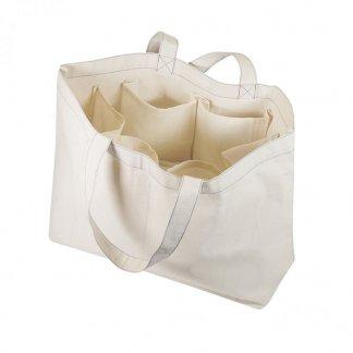 Sac à légumes personnalisable en coton biologique - 300g - 40x35x15cm - Ouvert - VEGY