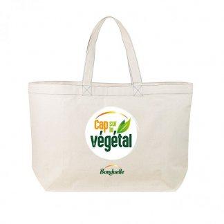 Sac à légumes personnalisé en coton biologique - 300g - 40x35x15cm - Avec marquage - VEGY