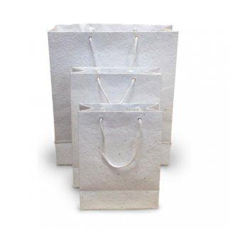 Sac biodégradable personnalisable avec graines - 3 formats - BIOSAC