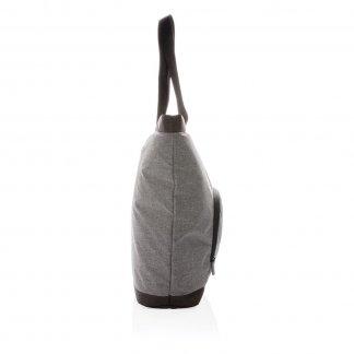 Sac cabas isotherme personnalisé en bouteilles plastiques recyclées - 37x39x11cm - Côté - FARGO