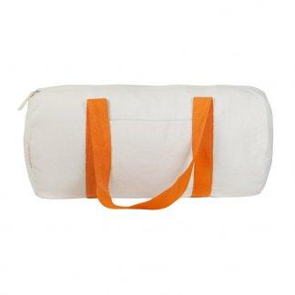 Sac de sport polochon publicitaire en coton recyclé - 240g - Orange - MAGNUM