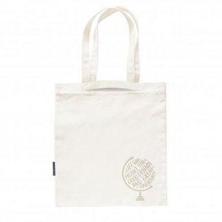Sac shopping avec double poignée en coton et bouteilles plastiques recyclées - 160g - 38x42cm - BIOMIXY