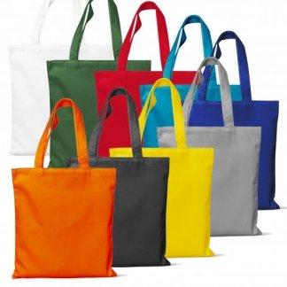 Sac shopping en coton biologique - 140g - 38x42cm - Toutes couleurs - BIO TRENDY