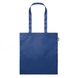 Sac shopping personnalisable en bouteilles plastiques recyclées - Bleu 2 - 110g - 38x42cm - TOTEPET