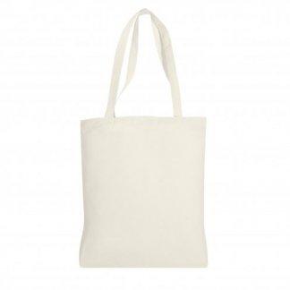 Sac shopping personnalisable en coton et coton recyclé - 150g - 38x42cm - DLUSS