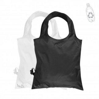 Sac shopping pliable promotionnel en bouteilles plastiques recyclées - 34x34cm - SHOPLI