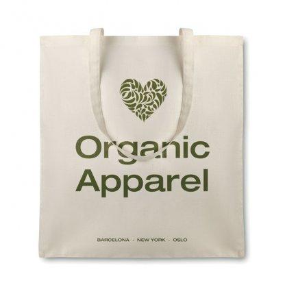 Sac Shopping Promotionnel En Coton Biologique 105g Avec Marquage ORGANIC COTTONEL